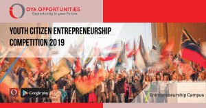 Youth Citizen Entrepreneurship Competition 2019