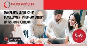 Johnson & Johnson Marketing Leadership Development Program (MLDP)