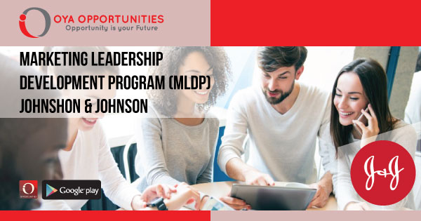 Johnson & Johnson Marketing Leadership Development Program (MLDP)