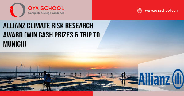 Image result for Allianz Climate Risk Research Award for PhD Students Worldwide 2019