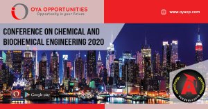 Conference on Chemical and Biochemical Engineering 2020