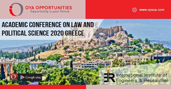 Academic Conference on Law and Political Science 2020 Greece