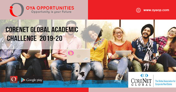 CoreNet Global Academic Challenge 2019-20 (Travel the world with an all-expense paid trip)