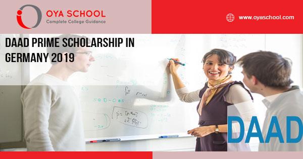 Fully Funded DAAD Scholarship in Germany 2019 - OYA
