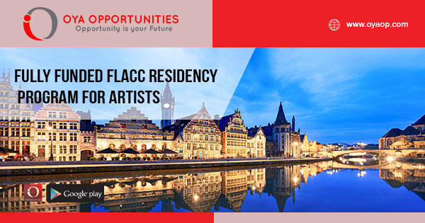 Fully Funded FLACC Residency Program for Artists