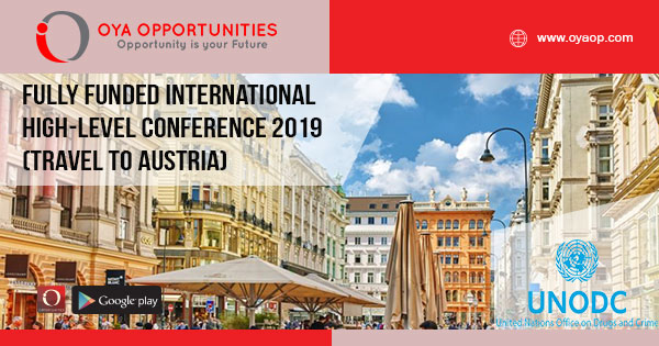 Fully Funded International High-Level Conference 2019 (Travel to Austria)