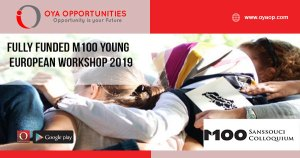 Fully Funded M100 Young European Workshop 2019