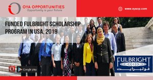 Funded Fulbright Scholarship Program in USA, 2019