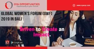 Global Women's Forum (GWF) 2019 in Bali