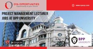 Jobs at BPP University in London