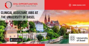 Clinical Assistant jobs at the University of Basel