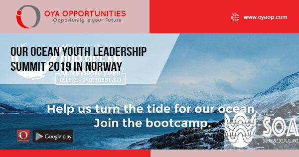 Our Ocean Youth Leadership Summit 2019 in Norway