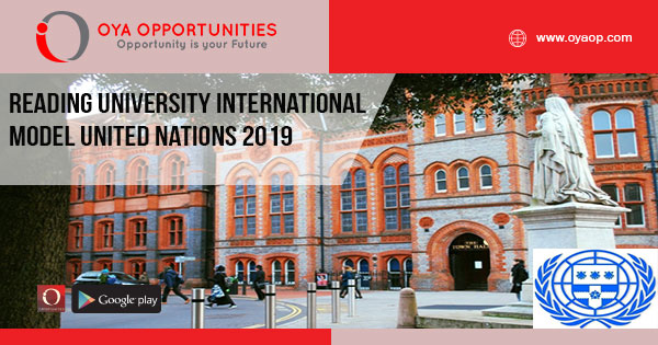 Reading University International Model United Nations 2019