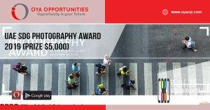 UAE SDG Photography Award 2019 (Prize $5,000)