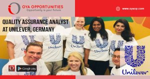 Jobs at Unilever in Germany