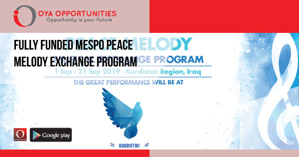 Fully Funded MESPO Peace Melody Exchange Program