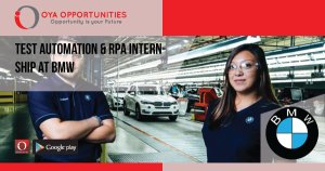 Test Automation & RPA Internship at BMW