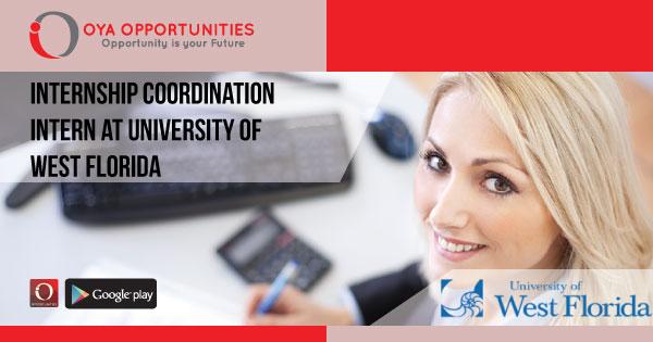 Internship Coordination Intern at University of West Florida