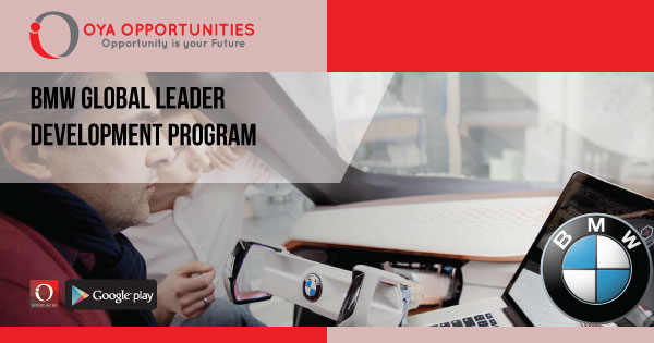 BMW Global Leader Development Program