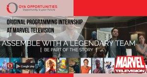 Original Programming Internship at Marvel Television