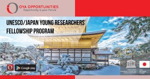UNESCO/Japan Young Researchers Fellowship Program