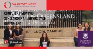 Computer Vision PhD Scholarship at University of Queensland