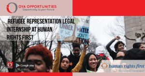 Refugee Representation Legal Internship at Human Rights First
