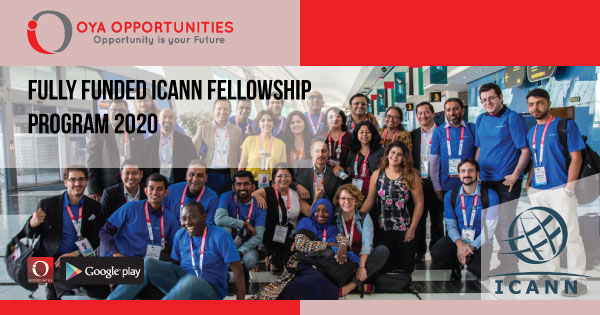 Fully Funded ICANN Fellowship Program 2020