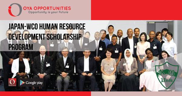 Japan-WCO Human Resource Development Scholarship Program
