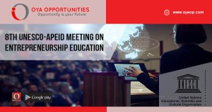 8th UNESCO-APEID Meeting on Entrepreneurship Education