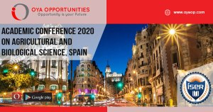 Academic Conference 2020 on Agricultural and Biological Science