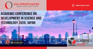 Academic Conference 2020 on Development in Science and Technology