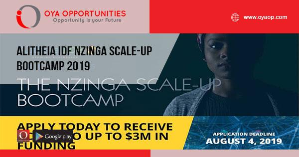 Alitheia IDF Nzinga Scale-Up Bootcamp 2019