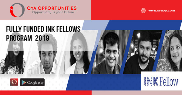 Fully Funded INK Fellows Program 2019