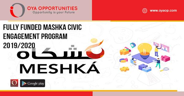 Fully Funded Mashaka Civic Engagement Program 2019/2020