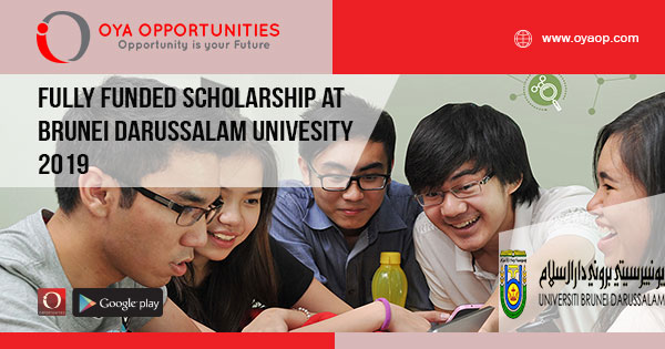 Fully Funded Scholarship at Brunei Darussalam Univesity 2019