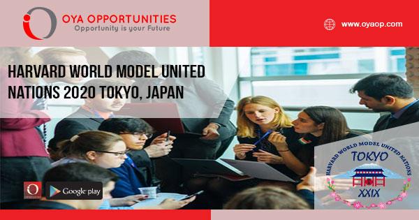 Harvard World Model United Nations 2020 Tokyo, Japan