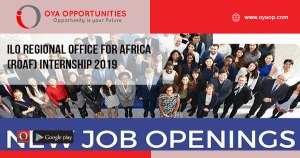 ILO Regional Office for Africa (ROAF) Internship 2019