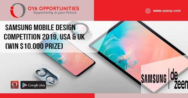 Peachy Samsung Mobile Design Competition 2019 Usa Uk Win Home Interior And Landscaping Ologienasavecom