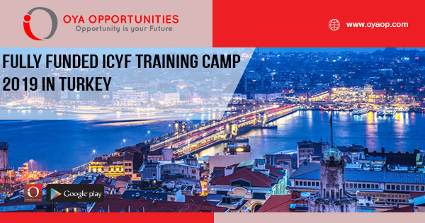 Fully Funded ICYF Training Camp in Turkey