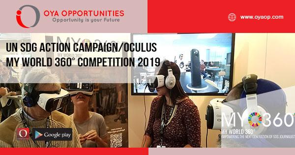 UN SDG Action Campaign/Oculus MY World 360° Competition 2019