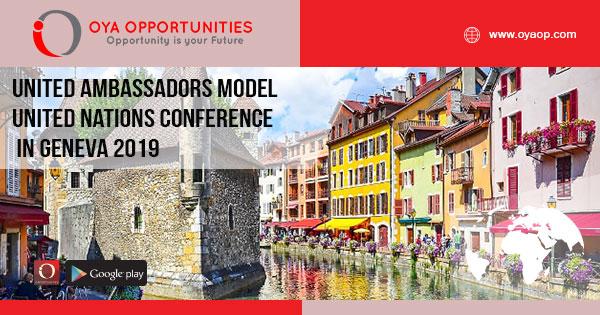United Ambassadors Model United Nations Conference in Geneva 2019