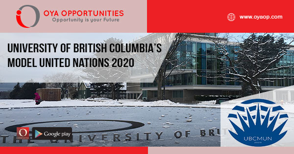 University of British Columbia's Model United Nations 2020