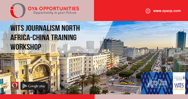 Wits Journalism North Africa-China Training Workshop