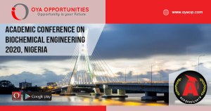 Academic Conference 2020 on Biochemical Engineering, Nigeria