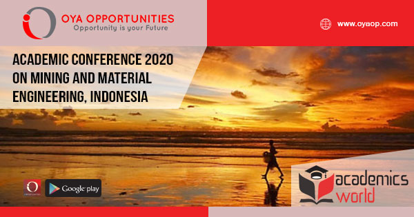 Academic Conference 2020 on Material Engineering
