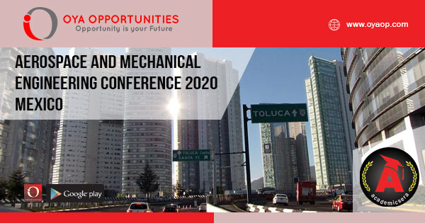 Aerospace and Mechanical Engineering Conference 2020 Mexico