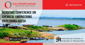 Chemical Engineering Conference 2020 Bangladesh