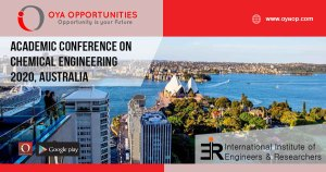 Academic Conference on Chemical Engineering 2020, Australia