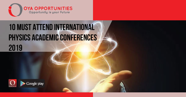 International Applied Physics Academic Conference 2019 | OYA